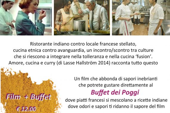 Film Amore, Cucina e Curry + Buffet